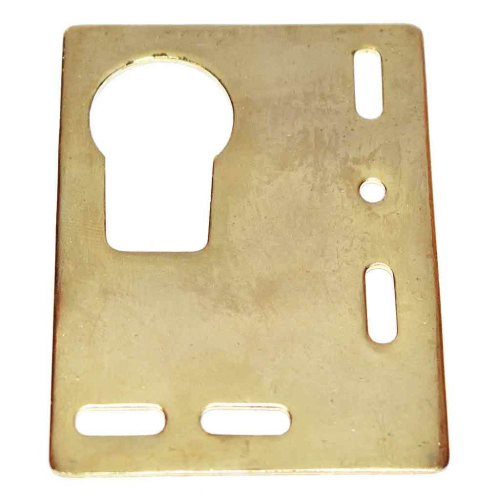 Heavy Duty Brass Plated Bezel Flat Plate